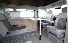 Transporteur T5, Vw T5, Volkswagen, Vw California T6, Campervan Interior, Vw Camper, Tiny Living, Bunk Beds, Toyota