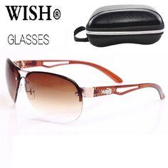 Pas cher Nouvelle mode lunettes de soleil hommes marque Designer uv400  Sport Driving lunettes de soleil a4a05c79a1ae