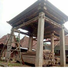 Traditional Javanese Joglo House Impact Imports Boise Amp Philadelphia Reclaimed Teak Amp Boat Wood Furniture Garden Stone Ar Javanese