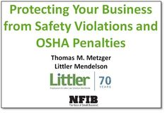 Protecting Your Business from Safety Violations and OSHA Penalties