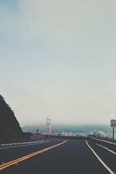 Approach to the Golden Gate Bridge