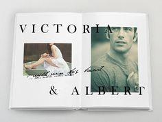 Victoria & Albert S/S 11 Concept by Carlie Templeman, via Behance