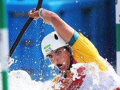 Australia's Jessica Fox during Qualifying for Canoe Slalom Kayak (K1) Women at the Whitewater (1024×768)