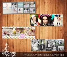 BUY 1 GET 1 FREE Facebook timeline cover template by DonyDesigns, $10.00
