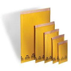 100 #2 KRAFT Bubble Mailers Padded Envelopes 8.5X12 Ecolite ELSS2 #Business #Industrial #Material #Handling #ELSS2