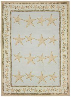Starfish Toss Area Rug