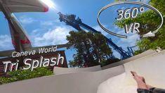Caneva World 2019 Tri Splash (middle slide) VR Onslide Music Clips, The Middle, Music Publishing, Vr, World, The World