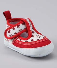 Another great find on #zulily! Rainbow Kids Red Star T-Strap Shoe by Rainbow Kids #zulilyfinds