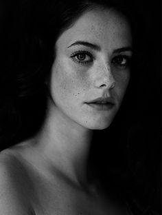 Beautiful Portrait Black White Black White {::}