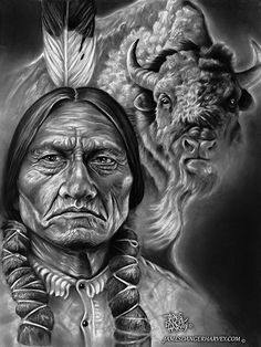The Great White Tanka will guide me! Native American Drawing, Native American Tattoos, Native Tattoos, Native American Paintings, Native American Pictures, Native American History, Inka Tattoo, Indian Tattoo Design, Indian Artwork