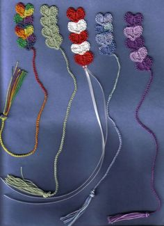 Heart Bookmarks FREE Crochet Pattern