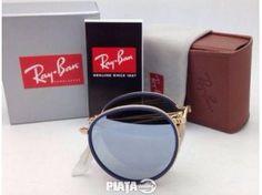 Vestimentatie, Bijuterii, accesorii, Ochelari Ray Ban Round Folding 3517 001/30, imaginea 1 din 7 Round Ray Bans, Second Hand, Sunglasses, Eyeglasses, Sunnies, Shades, Glasses