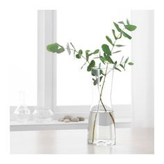 TIDVATTEN Vase IKEA The vase is perfect for long-stemmed flowers. The glass vase is mouth blown by a skilled craftsperson.