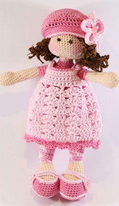 Image Article – Page 271764158750655657 Crochet Dolls Free Patterns, Crochet Doll Pattern, Amigurumi Patterns, Amigurumi Doll, Doll Patterns, Crochet Doll Clothes, Knitted Dolls, Crochet Toys, Crochet Baby