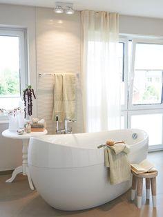 Wohnidee-Haus 2013 mit Produkten von Villeroy & Boch - Badezimmer