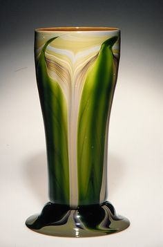 Vase Tiffany Glass and Decorating Company, New York City, NY, American, favrile glass, circa 1893-1896