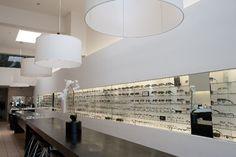 Clear Optometry Store design idea as seen on www.interiordesignpro.org