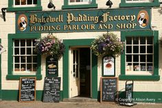 Bakewell Pudding Factory, Bakewell, Peak District, Derbyshire