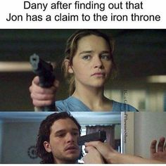 Game Of Thrones Memes 2019 - Dany after finding out that Jon has a claim to the Iron Throne - Hintergrundbilder Art Game Of Thrones Meme, Game Of Thrones Books, Got Memes, Funny Memes, Hilarious, Funny Quotes, Jon Schnee, Game Of Thrones Instagram, Game Of Thones