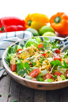 Mexican Ranch Chicken Salad is a fresh and healthy dinner recipe or make ahead lunch for the warm weather months! Chicken Breast Recipes | Salad Recipes | Mexican Food | Slow Cooker Chicken | Pressure Cooker Chicken | Instant Pot Recipes #instantpot #slowcooker #chicken #salad #TheSeasonedMom #healthydinner