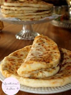 Stuffed Pancake Bread with Minced Meat, Vegetables and Cheese - Quick and Easy Recipes Crockpot Recipes, Chicken Recipes, Cooking Recipes, Pan Relleno, Algerian Recipes, Brunch, Ramadan Recipes, Cooking Chef, Arabic Food