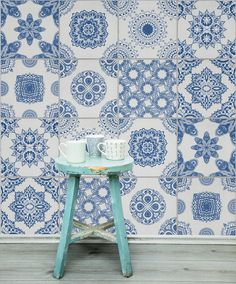 white-and-blue-portuguese-tiled-wallpaper