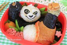 Kung Fu Panda bento