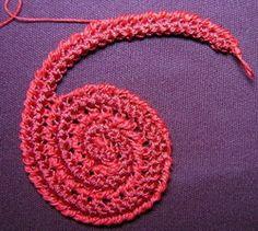 Creating a freeform shape with the irish crochet cord~photo tutorial {Irlandese pizzo, Miroslav, pizzi all'uncinetto irlandese}