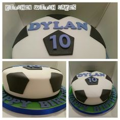 Football cake for my Nephew this time