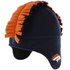 47 Brand Chicago Bears Toddler Spike-O-Saurus Knit Hat - Navy Blue