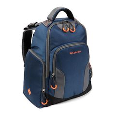 Columbia Navy Summit Rush Backpack Diaper Bag - roomy, lightweight and  comes in unisex style. http://www.toysrus.com/error/404.jsp?utm_content=bufferb381e&utm_medium=social&utm_source=pinterest.com&utm_campaign=buffer