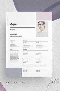 Resume/CV and cover letter template. Pitch Pack Hasia For those looking for - Resume/CV and cover letter template. Pitch Pack Hasia For those looking for Resume/CV and cover letter template. Pitch Pack Hasia For those looking for Cover Letter Template, Letter Templates, Cover Letters, Print Templates, Templates Free, Resume Design Template, Resume Templates, Creative Cv Template, Design Typography