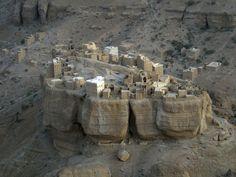 a Wadi Daw'an village in the Hadramout region of Yemen