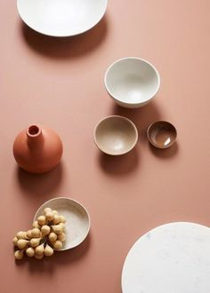 """An animating and life-affirming coral hue with a golden undertone that energizes and enlivens with a softer edge. Every December, the Pantone Colour Institute c Terracota, Jotun Lady, Keramik Design, Live Coral, Coral Pink, Blush Pink, Prop Styling, Deco Design, Color Stories"