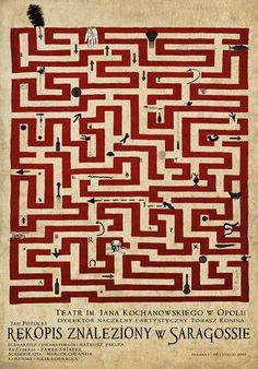 The Saragossa Manuscript, Polish Theater Poster