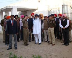 We visited the Nabha jail today afternoon to have first hand information and DGP Suresh Arora accompanied me. Special Investigation team has been asked to submit a report within three days in this regard. We will investigate thoroughly about this security breach. Whosoever will be found responsible in this incident, strict action will be taken against him.  #SukhbirSinghBadal #AkaliDal #ProgressivePunjab #Punjab