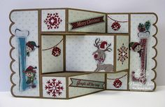 Fun with FabScraps - More Joy to the World Collection Fancy Fold Cards, Folded Cards, Grateful Heart, Joy To The World, Paper Crafting, Scriptures, Mini Albums, Merry Christmas, Encouragement