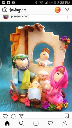 Christmas Clay, Christmas Time, Merry Christmas, Clay Cup, Pasta Flexible, Sculpture Clay, Polymers, Gisele, Cold Porcelain