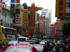 Bangkok, Silom road - Thailand