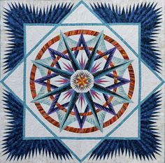 mariner compass quilt Judy Neimeyer | Mariner's Compass | Judy Niemeyer Mariner's Compass