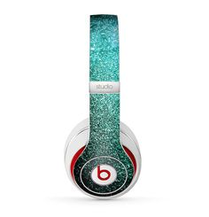 The Grungy Teal Texture Skin for the Beats by Dre by TheSkinDudes