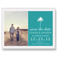 save the date post cards #wedding