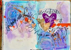for the colors and the flow of the page from one side to the other!