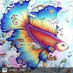 Very beautiful @flora_2748  Want to appear in our group put #arte_e_colorir  Use #arte_e_colorir para aparecer aqui