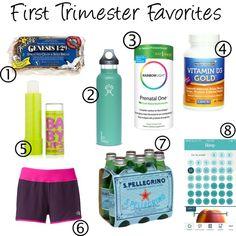 First Trimester Favorites