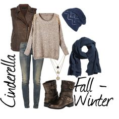 """Cinderella (Fall - Winter)"" by idmiliris on Polyvore"