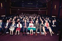 Wedding in a movie theatre? this is brilliant!