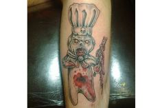 pillsbury dough boy gangster tattoo zombie dough boy