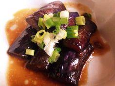 簡単茄子の中華風揚げびたしの画像
