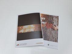 grafisch ontwerp en copy brochure A4 Brochures, Online Marketing, Polaroid Film